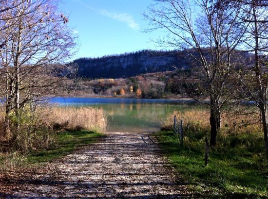 Le Frasnois, Frankrig: Lac d ilay