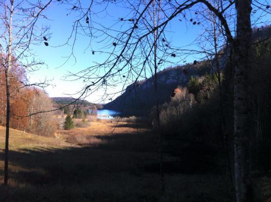 Le Frasnois, Frankrig: Lac du grand machu