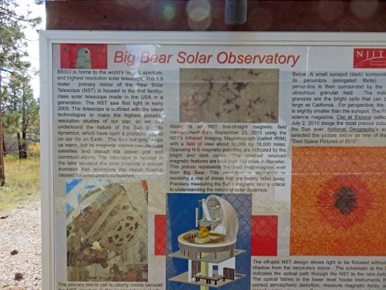 Big Bear Solar Observatory: BBSO - what they do