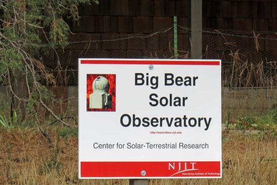 Big Bear Solar Observatory: BBSO - NJIT with CSTR operates BBSO