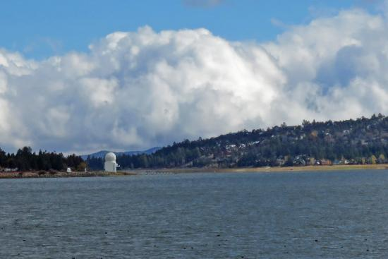 Big Bear Solar Observatory: BBSO - situated on the lake