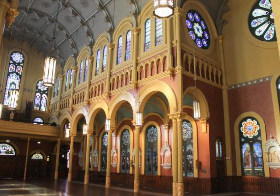 Sacred Heart Cultural Center: Beautifully detailed structure throughout