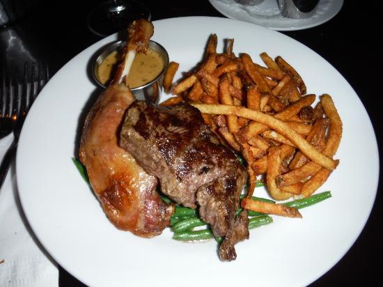 Restaurant Steak Frites St Paul Montreal