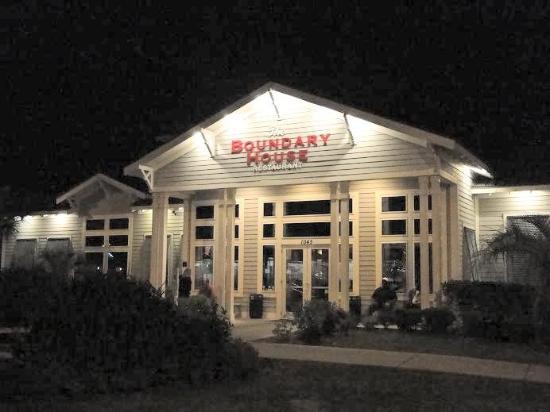 The Boundary House Restaurant Outside