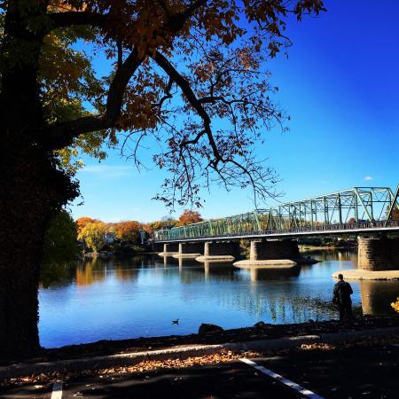 แลมเบิร์ตวิลล์, นิวเจอร์ซีย์: Lambertville/New Hope Bridge