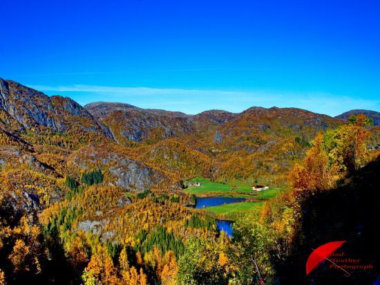 Хордаланд, Норвегия: Eksingedalen