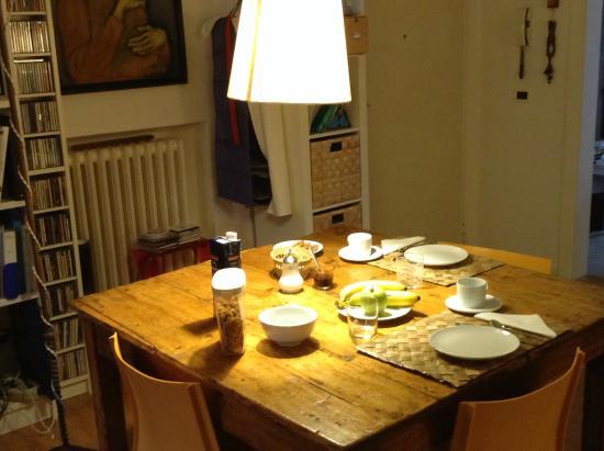 AmaBologna : colazione nel salone