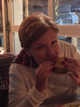 incredible food in a wonderful fun setting! burgers, fish and