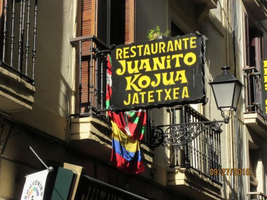 Juanito Kojua: aqui está