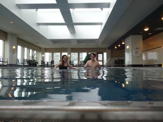 Very Nice Indoor Heated Swimming Pool Picture Of Hilton