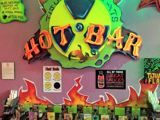 Tijuana Flats: Hot Bar