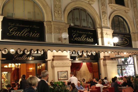 Ristorante Galleria Restaurant Pizza Milan Italy