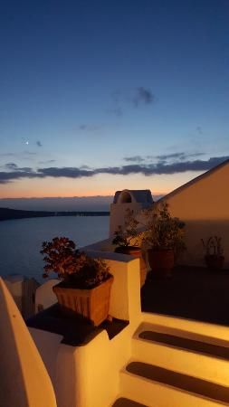 Marizan Caves & Villas: sunset view from my room