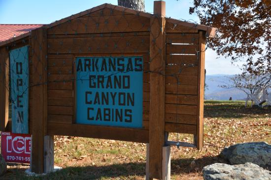 Arkansas Grand Canyon Cabins
