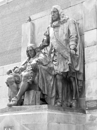 Standbeeld gebroeders De Witt