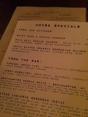 Marietta, PA: Asian steak, beets salad, drinks, menu & cool vibes