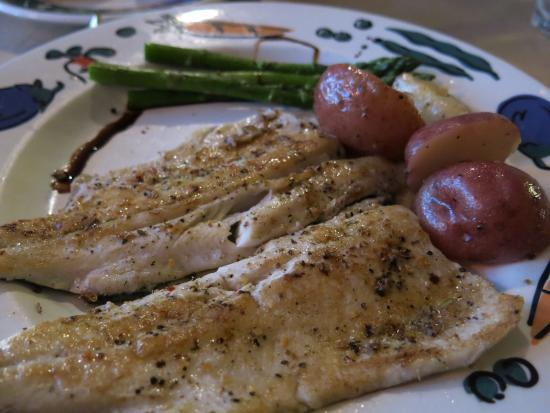 Abigail's Restaurant: Pan seared trout