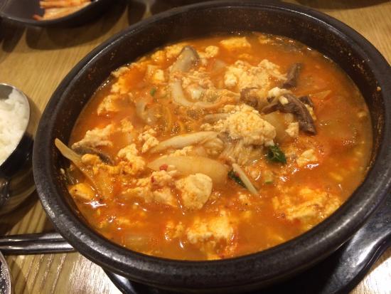 Myoungdong Sundubu : 牛肉スンドゥブ