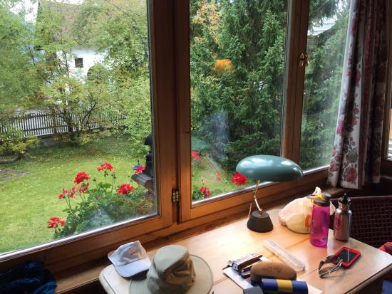 Historic Hotel Chesa Salis : Garden view