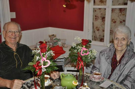 The Tilted Teacup Tea Room and Boutique: Our Valentines Tea