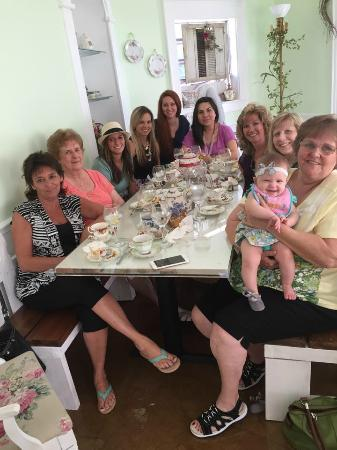 The Tilted Teacup Tea Room and Boutique: Ladies Luncheon in our Secret Garden