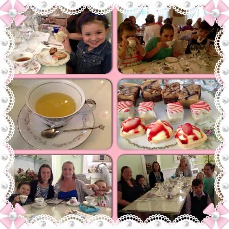 The Tilted Teacup Tea Room and Boutique: Birthday Tea