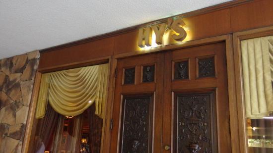 Hy's Steak House - Waikiki: お店外観