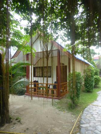 Andaman Resort: Вид на бунгало