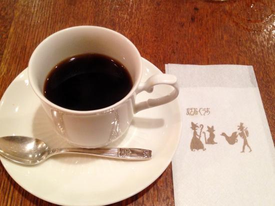 Mazaagusu: コーヒーも薫り高く美味しいです