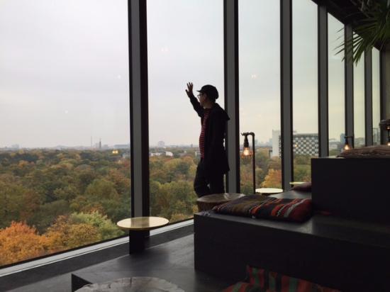 25h Berlin rooftop bar view overlooking zoo picture of 25hours hotel