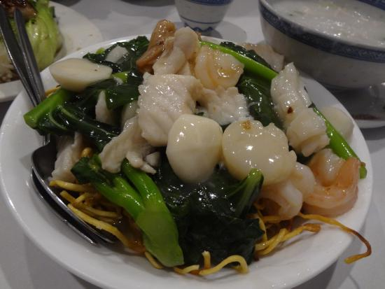 Supper Inn : Fried Seafood Noodles