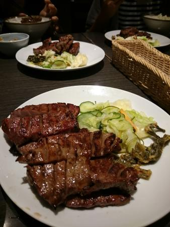 beef tongue Charcoal cuisine Rikyuu Tomizawa