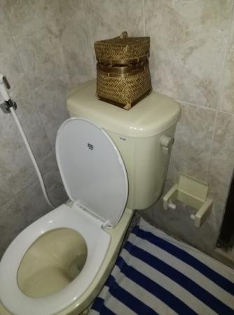 Nick's Pension: Bathroom in Room 402