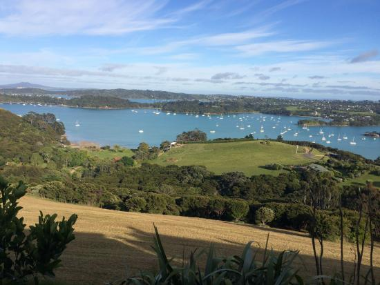 Te Whau Lodge: The exceptional view from our room