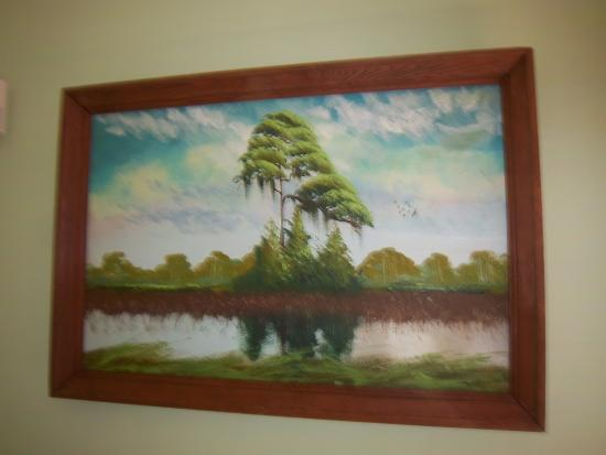 Hallstrom Farmstead: Highwayman painting
