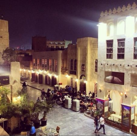 View of Souq Waqif from Le Gourmet Restaurant - Picture of
