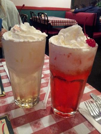 Pago's Pizzeria & Italian Cuisine: Italian Sodas