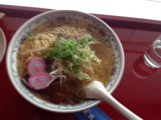 Taikiken: あごだしラーメン 麺2倍