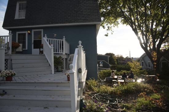 Seagull Inn: In der Sonne hinter dem Haus
