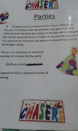 Cullompton, UK: Childrens Parties
