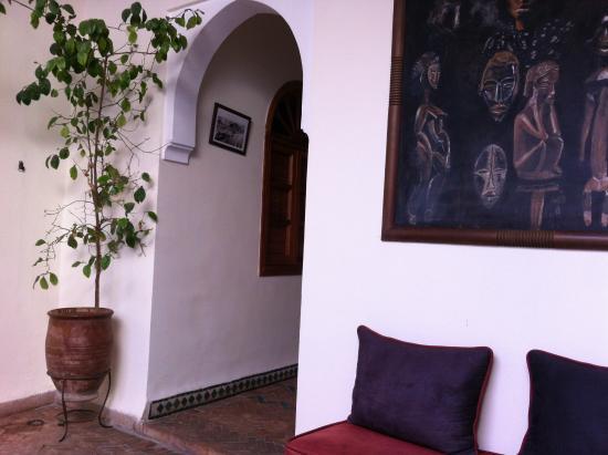 Palais Riad Calipau Marrakech: devant la chambre