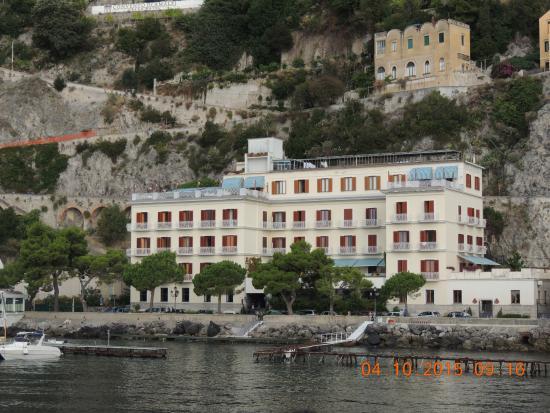 Hotel la Bussola: från havet