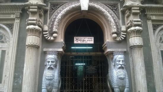 parsi zoroastrian temple in Mumbai