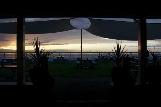 Gurnard, UK: sunset