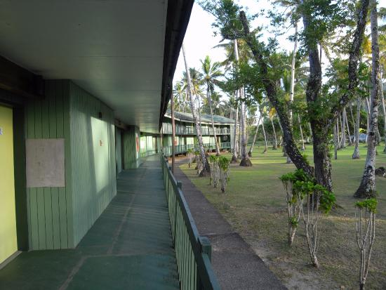 Truk Blue Lagoon Resort: private entrance
