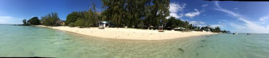 Les Lataniers Bleus: Beach