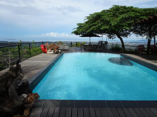Swimming pool with great view