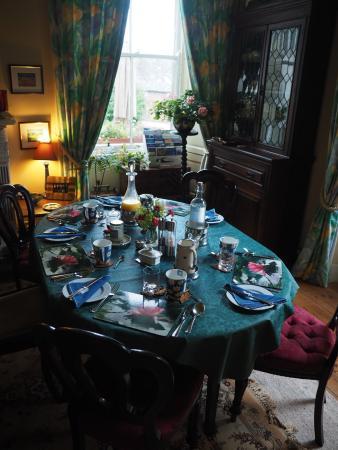 Greenlaw, UK: Frühstückstisch