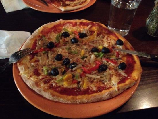 Raahe, فنلندا: Alto Mare pizzeria