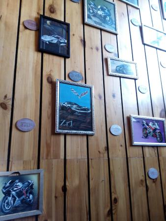 attractive frames at the entrance - Picture of Global Fusion ...